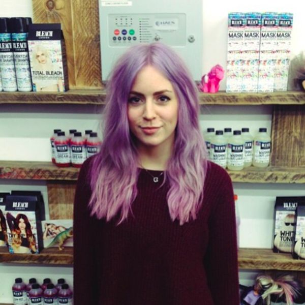 Bleach London Instagram Pastel Hair Pictures Pretty Pouts