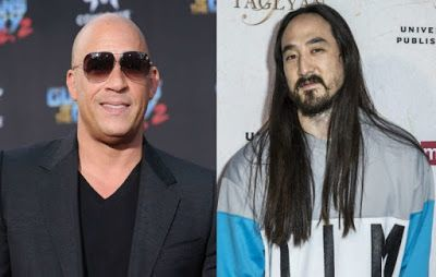 @InstaMag - Actor Vin Diesel has collaborated with DJ Steve Aoki for a dance track.