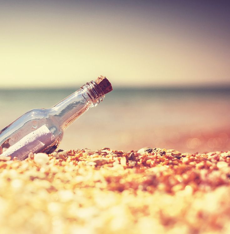 An interesting post from @POPSUGAR Smart Living check it out! send a message in a bottle