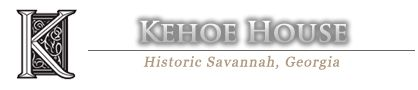 Haunted Savannah Tours starting here, at The Kehoe House - Haunted Bed and Breakfast