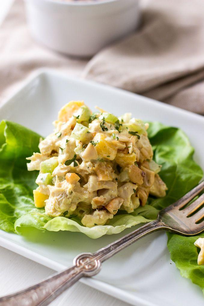 Curried Chicken Salad - The Beach House Kitchen