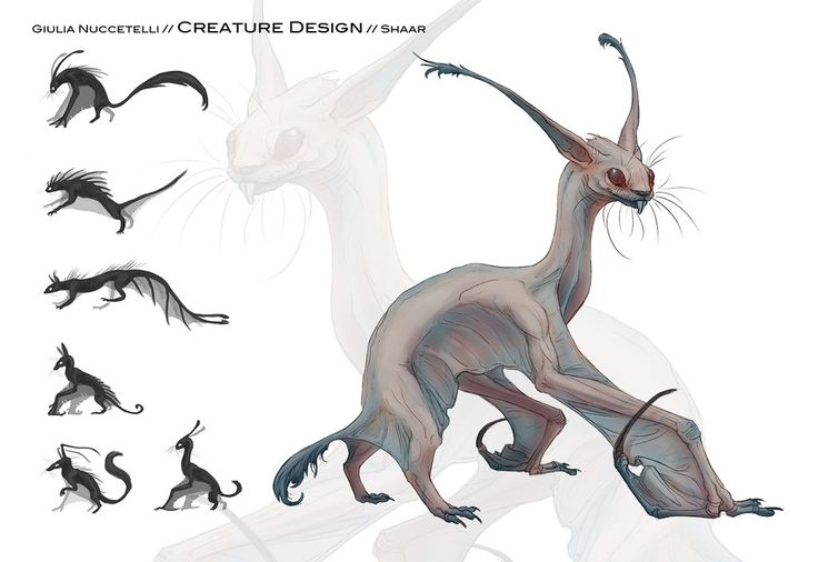 "This is a concept did for a school project.  They give to us a simple description of all creatures, characters, enviroment etc..and then we draw everything. Here the description was: ""White Az..."