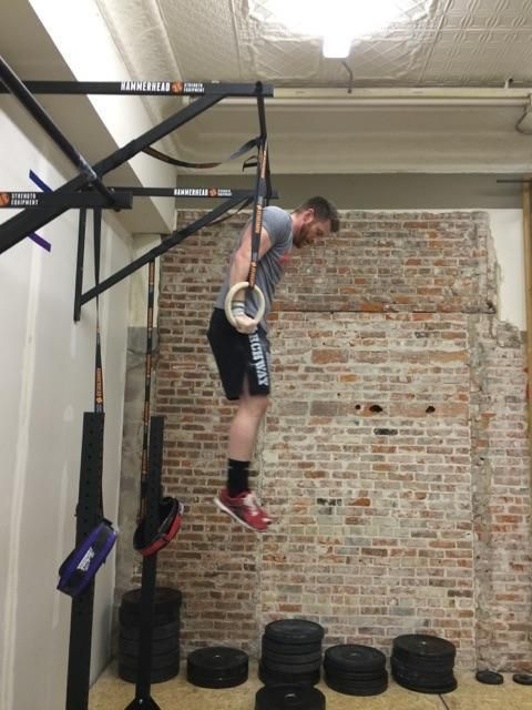 Muscle up brackets muscles strength and climbing rope