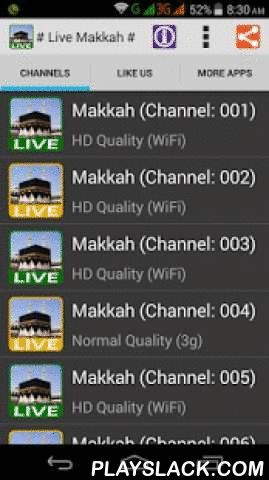 "Watch Live Makkah 24 Hours HD  Android App - playslack.com ,  Watch Live Makkah / Madinah 24 / 7 / 365 Anytime, Anywhere on your mobile !-------------------------------★ WORK ON 3G to WIFI NETWORK ONLY. ★-------------------------------Instructions:➜ Please wait a few seconds to stream Live Makkah & Madinah TV.➜ If you are showing ""Stream Server is Busy"" please go back and select other links.➜ We are always update & add new streaming links & application, please set auto-update in…"