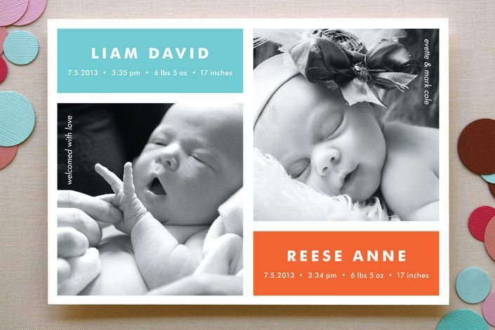 Best 25 Twin Baby Announcements Ideas On Pinterest