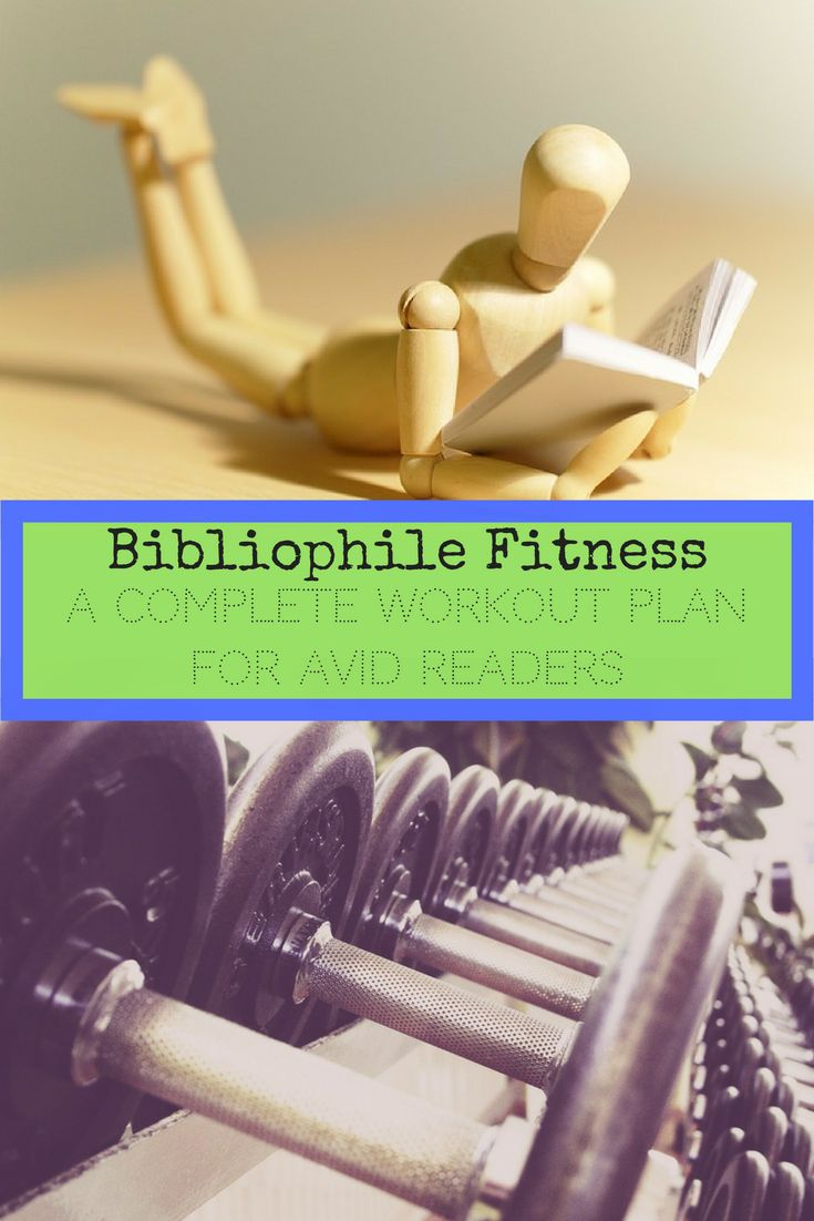 Bibliophile Fitness | A Complete Workout Plan for Avid Readers - Emma Conrad | Spread More Happiness Blog