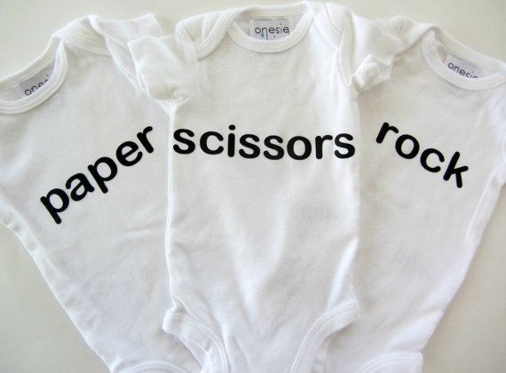 7 best babies images on pinterest baby twins bodysuits and triplet gifts funny triplet baby bodysuit rock by laurelandoctavia negle Images