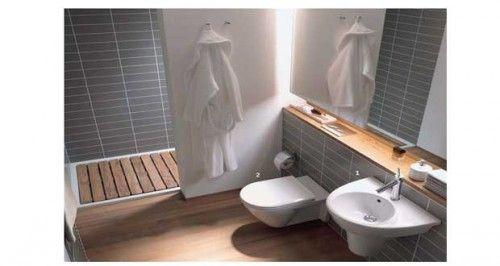 Les 25 meilleures id es de la cat gorie baignoire gain de place sur pinterest - Baignoire ou douche pour vendre ...