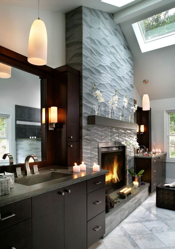 ss kitchen cabinets best 25 contemporary fireplace mantels ideas on 26541