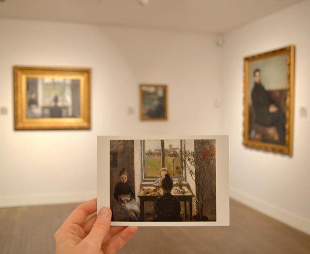 """WEBSTA @ muzealium - """"Obrazy moje wspaniale wyglądają, bo są prawdą, są uczciwe, pańskie, nie ma w nich małostkowości, nie ma maniery, nie ma blagi.""""Olga Boznańska - Kwiaciarki (1889)#museum#painting#olgaboznanska#mnkkrakow#krakow#art#artgallery#exhibition#postcard#polishart#polishartist#dailyart#artdaily#artlover#photooftheday"""