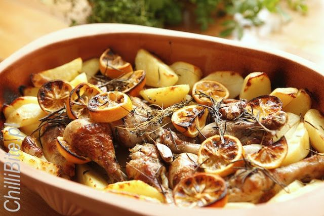 ChilliBite: Grecki kurczak cytrynowy
