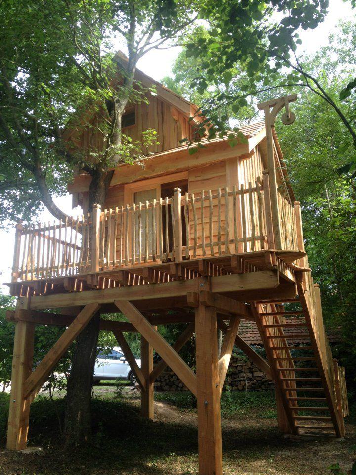 la cabane des fr nes cabane dans les arbres cabanes et. Black Bedroom Furniture Sets. Home Design Ideas