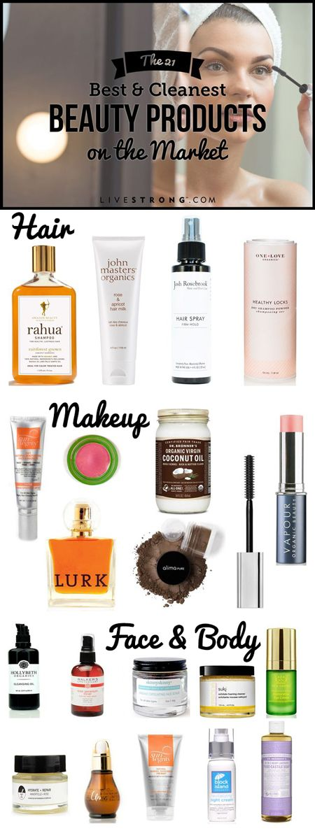 """LIVESTRONG's guide to the best """"green"""" and """"natural"""" beauty products: http://www.livestrong.com/article/1011723-21-safe-beauty-products-actually-work/"""