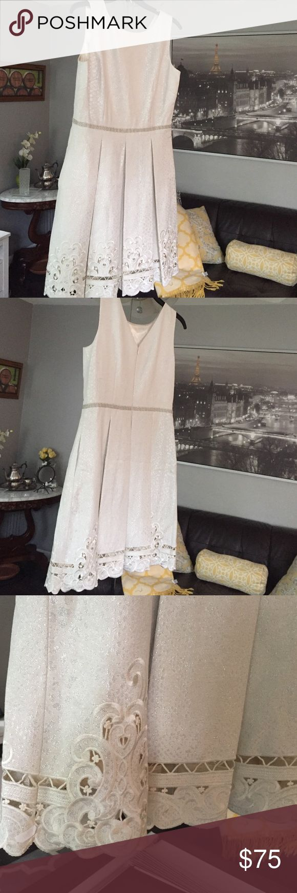CLOSET CLEAR OUT SALE! cocktail dress Purchases from Dillard's for $200. Only worn once for a bridal shower for literally 3 hours. Size 6. This is a beautiful dress of great quality! Dresses Asymmetrical