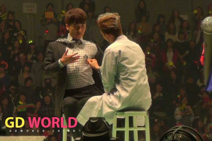 Seungri and GD | VIP Japan 2014 Fan Meeting in Yokohama