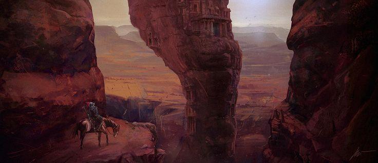 Conquistador, Piotr Białczak on ArtStation at https://www.artstation.com/artwork/1lRDe