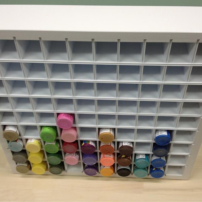 1000+ Ideas About Acrylic Paint Storage On Pinterest