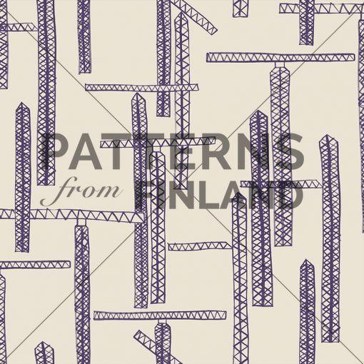 Maria Tolvanen: Työn alla – Työmaa #patternsfromagency #patternsfromfinland #pattern #patterndesign #surfacedesign #mariatolvanen