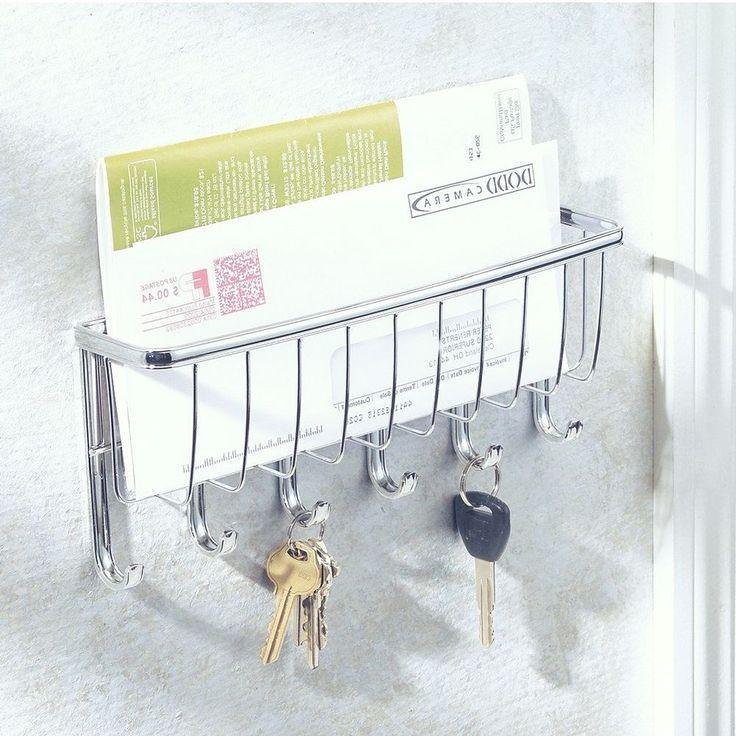 Keys Mail Letter Holder Storage Organizer Wall Mounted Set Box Rack Hooks Hanger