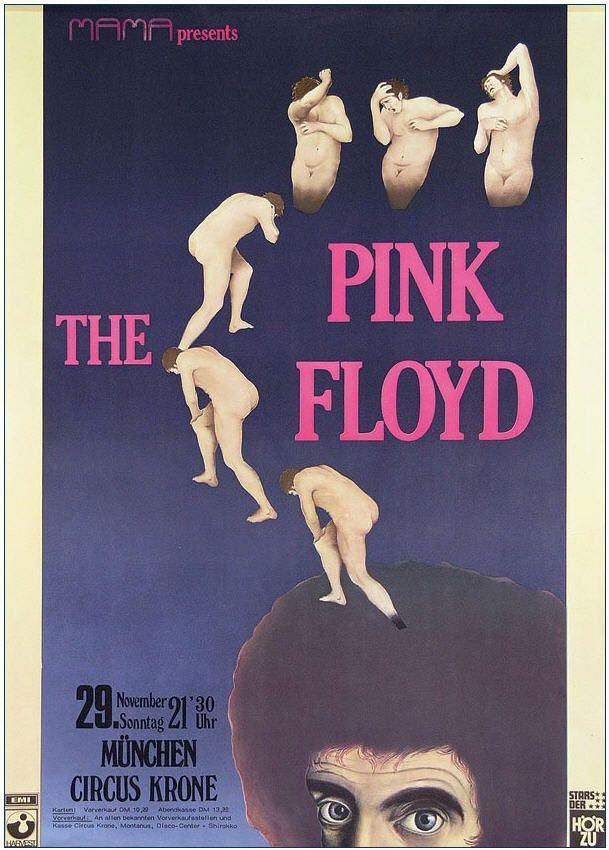 Pink Floyd - Circus Krone, Germany 1970