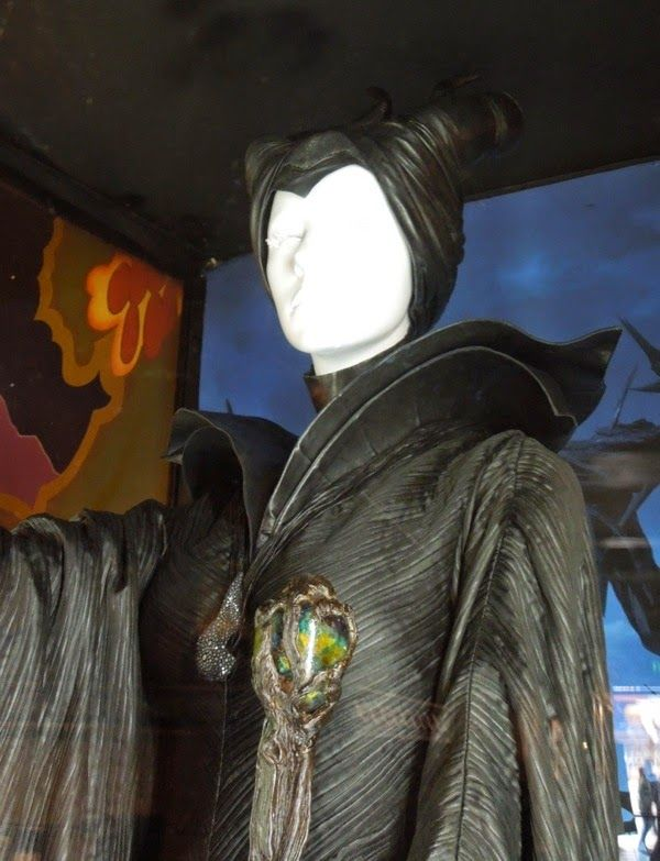 Maleficent Christening curse costume detail