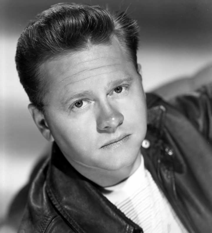 Mickey Rooney born September 23, 1920 Died April 6, 2014 aged 93 RIP An American actor, vaudevillian, comedian, producer and radio personality. In a career spanning nine decades and continuing until shortly before his death, he appeared in more than 300 films and was one of the last surviving stars of the silent film era. Photo: For The Big Wheel (1949) https://en.m.wikipedia.org/wiki/Mickey_Rooney
