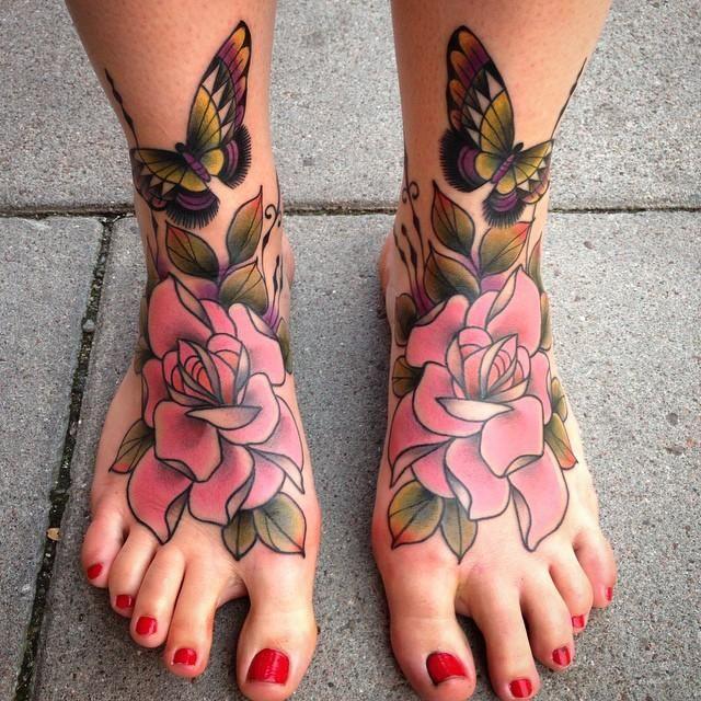 100 Tatuagens no Pé - Fotos Lindas e Inspiradoras | Ideias de tatuagens, Tatuagens femininas pes, Tatuagem feminina