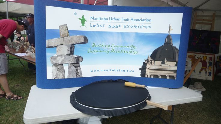 Manitoba Inuit Assoc at Aboriginal day Live at The Forks on Sat. a newly formed Inuit association