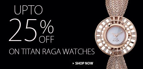 Summer deal!! Get amazing discount in every purchase of Titan Watches. Shop Now: