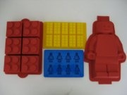 Lego molds: Lego Minifigure, Birthday Parties, Ice Trays, Cakes Pan, Lego Birthday, Parties Ideas, Lego Cakes, Birthday Cakes, Cakes Moldings