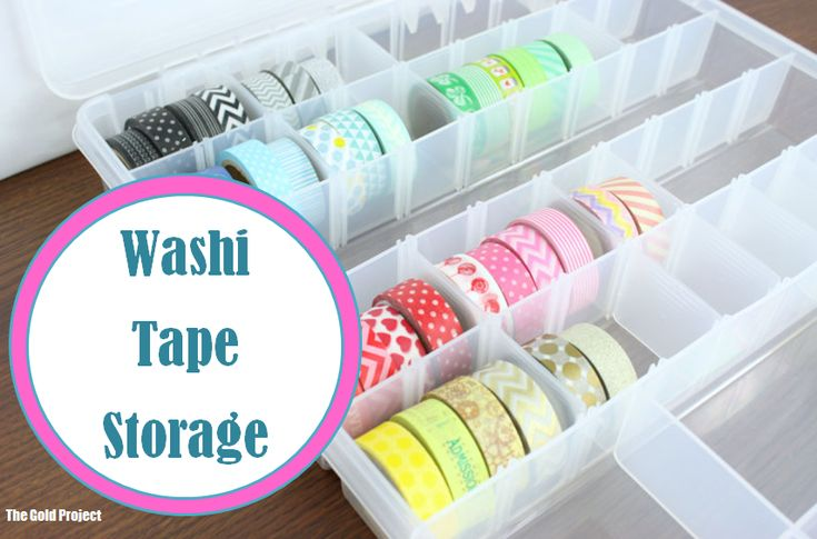 Washi Tape Storage                                                                                                                                                                                 More