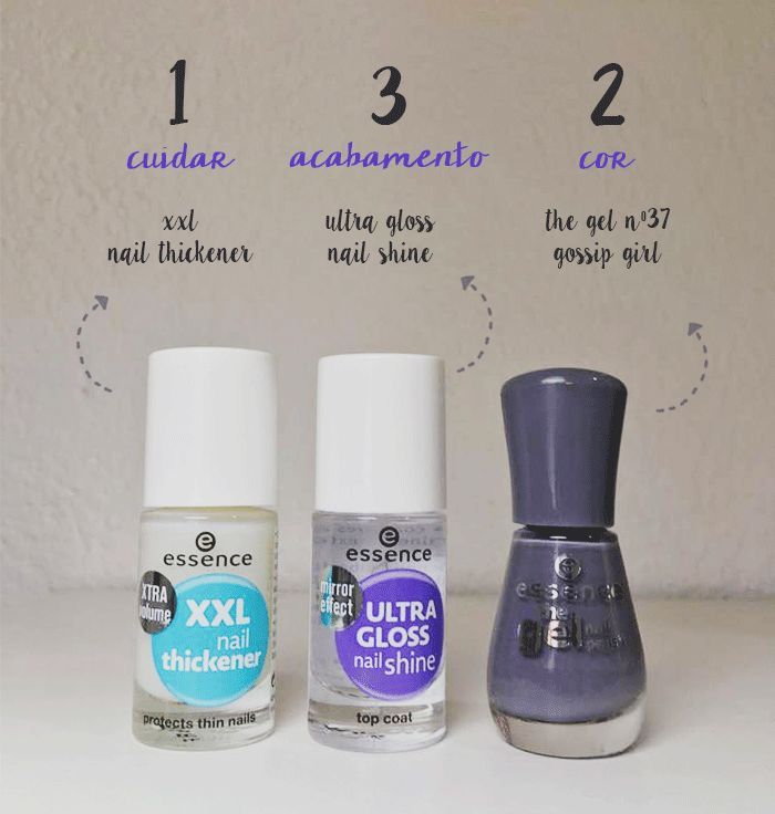 Essence Nail Polish Review - Treatment and The Gel