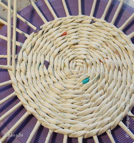 Мастер-класс Материалы и инструменты Плетение Кругляш из точки  Трубочки бумажные фото 14