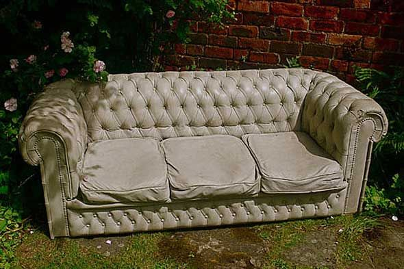 Concrete couch