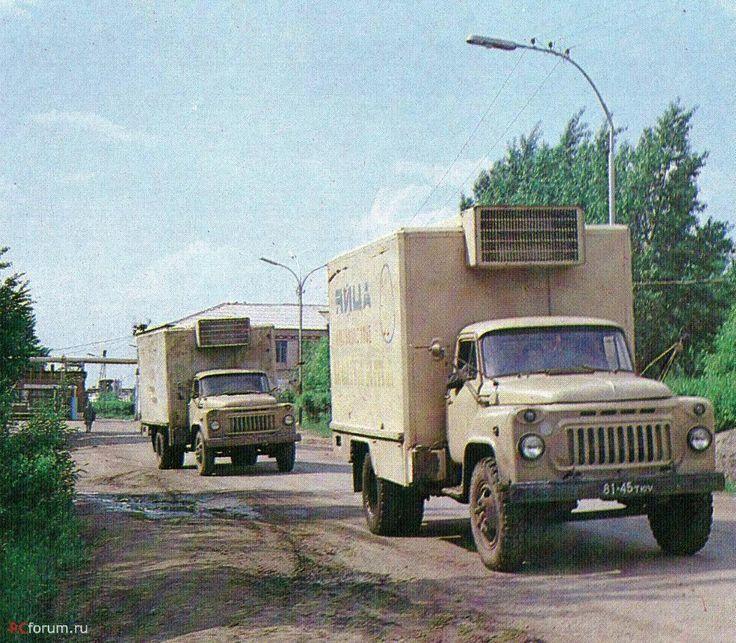 Автомобиль-фургон модели 3716 Шумерлинского завода специализированных автомобилей для перевозки молодняка птицы в контейнерах на колёсах и инкубационных яиц