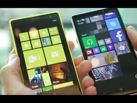 Nokia Lumia 930 vs Nokia Lumia 1020 Hands on Comparison