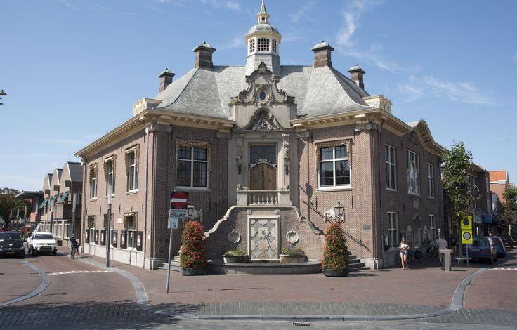 Gemeentehuis/City Hall Zandvoort aan Zee. The Netherlands