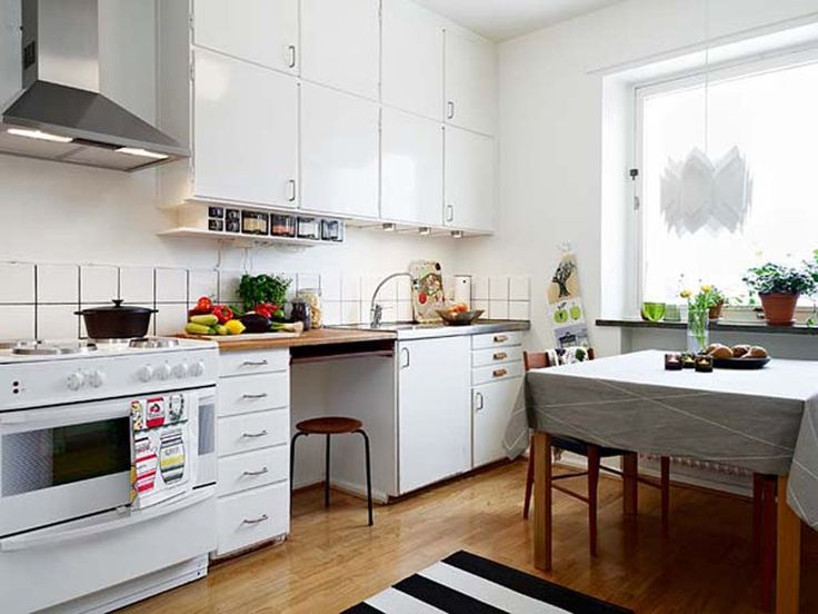 small kitchen dining room combo design ideas effectively saving space - Apartment Kitchen Design Ideas Pictures