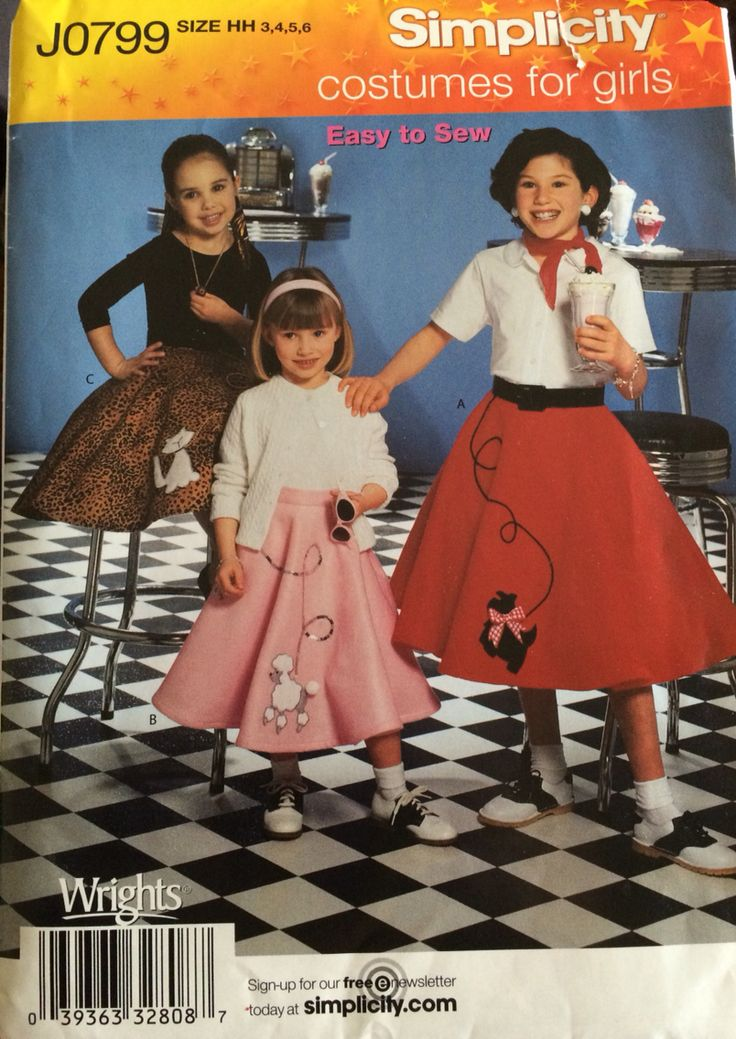 Simplicity Halloween Costumes For Girls