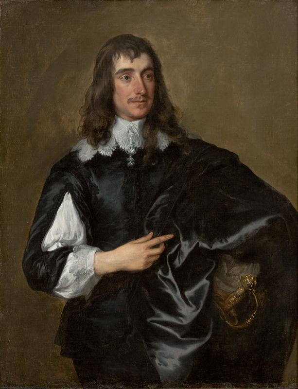 Anthony van Dyck . Portrait of (William Howard, 1st Viscount Stafford), 1638-1640. Museu de Arte de São Paulo Assis Chateaubriand - MASP. He is regarded as a Roman Catholic martyr. executed on Tower Hill on 29 Dec 1680