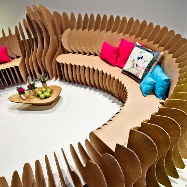 CARDBOARD FUN! By Sanchez Garrido Architects. Cardboard ChairCardboard ...