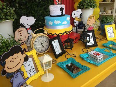 Festa do Snoopy: dicas, ideias e decoração! | Guia Tudo Festa - Blog de Festas - dicas e ideias!