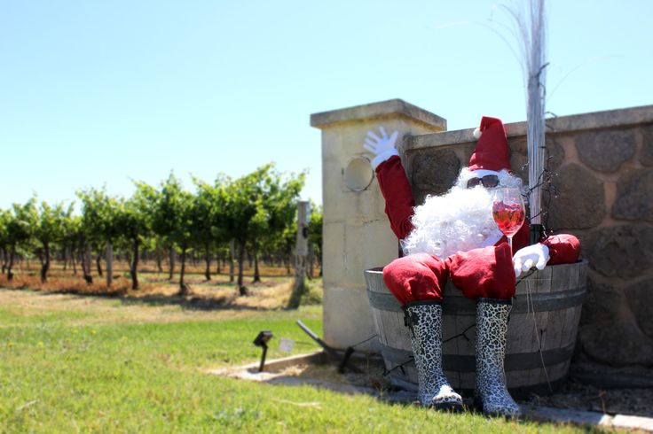 #Santa changed his regular boots for this pair somewhere in the #Coonawarra