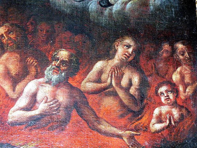 Poor Souls In Purgatory | fegefeuer the souls in purgatory animas del purgatorio the holy souls ...