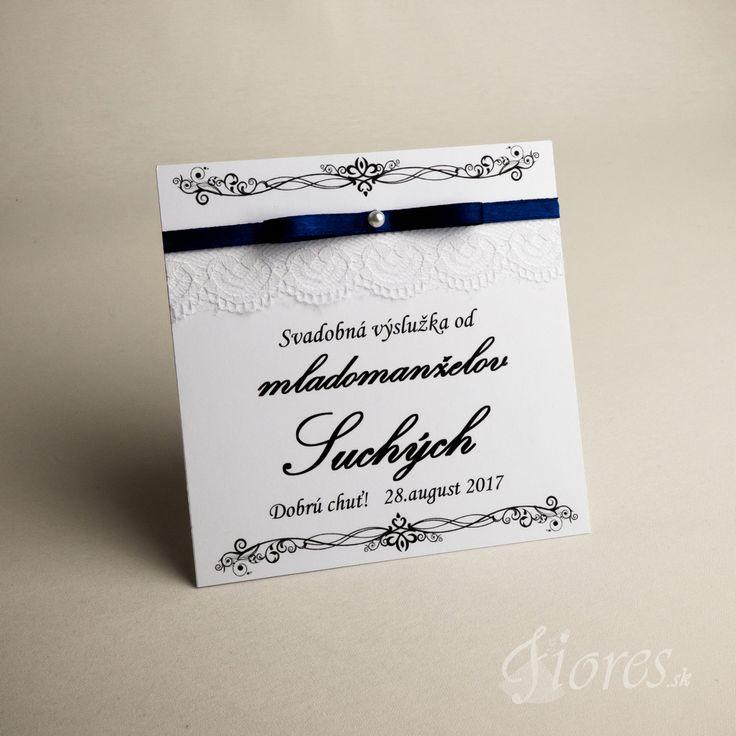 """Svadobné etikety """"Elegance"""" Vytvorili sme pre Vás elegantné etikety na výslužky v jemnom svadobnom prevedení."""