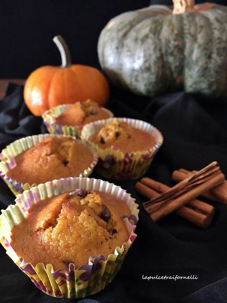 muffin amaretti cioccolato zucca