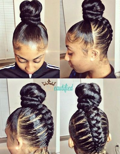 Cornrow braided topknow