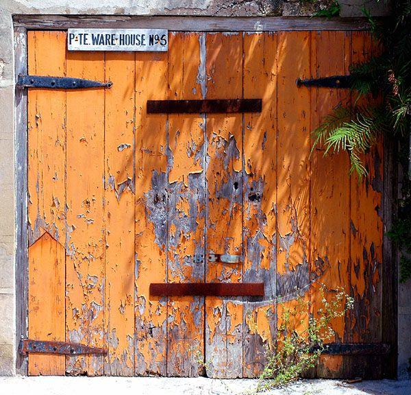 Orange Doorway - Bridgetown, Christ Church - Barbados