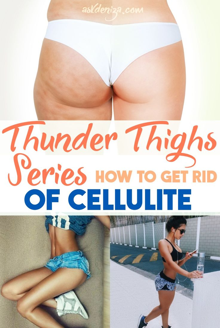 "The science of cellulite: What is cellulite and how can we get rid of it naturally? These nutrition and exercise tips will help you get rid of that ""orange peel"". @askdeniza"