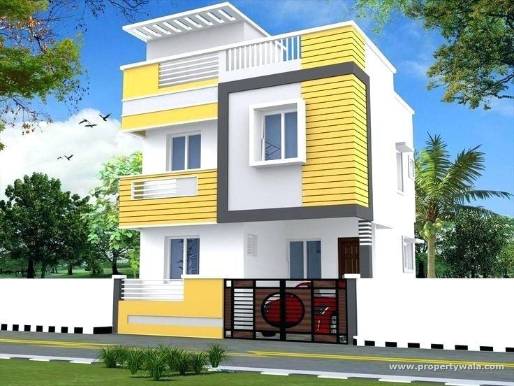 Indian Village House Front Elevation Designs Photos Duplex House